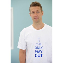 T-shirt IN IS THE ONLY WAY OUT (L)
