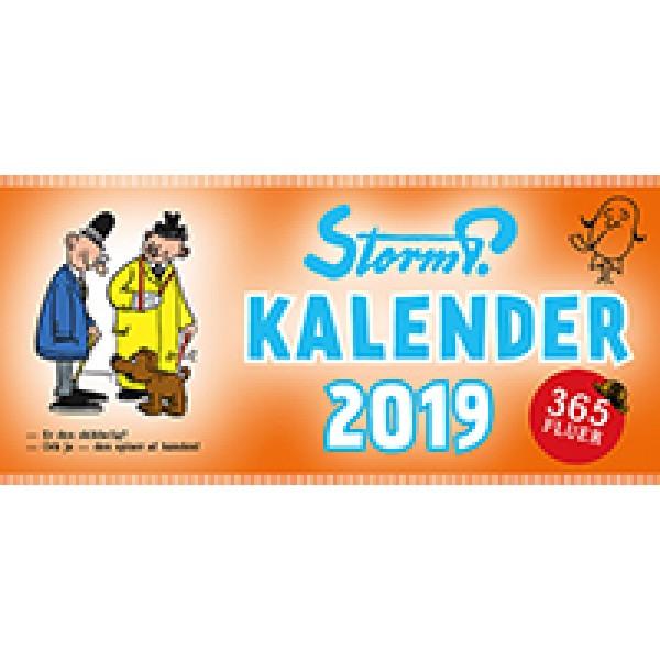 Storm P. kalender 2019